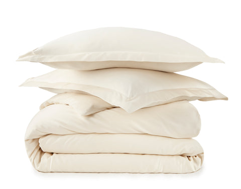 300 Thread Count Organic Duvet Cover - Sateen