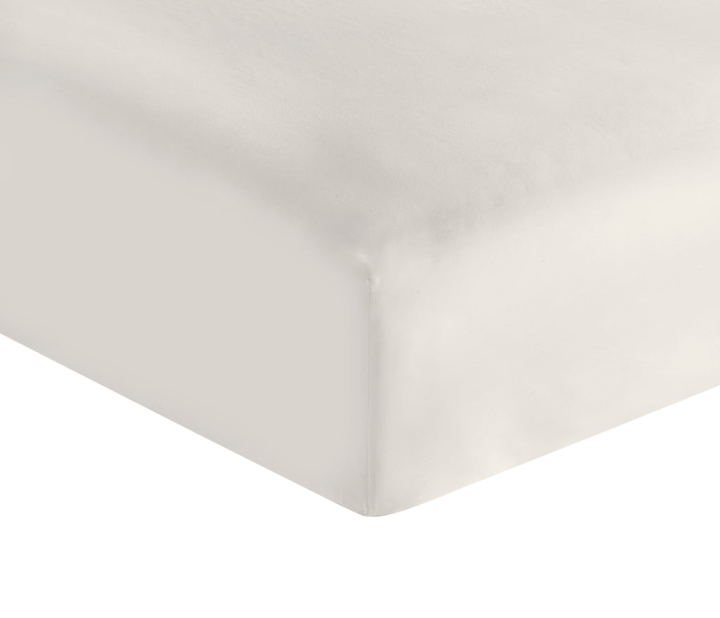 300 Thread Count Organic Fitted Sheet - Sateen