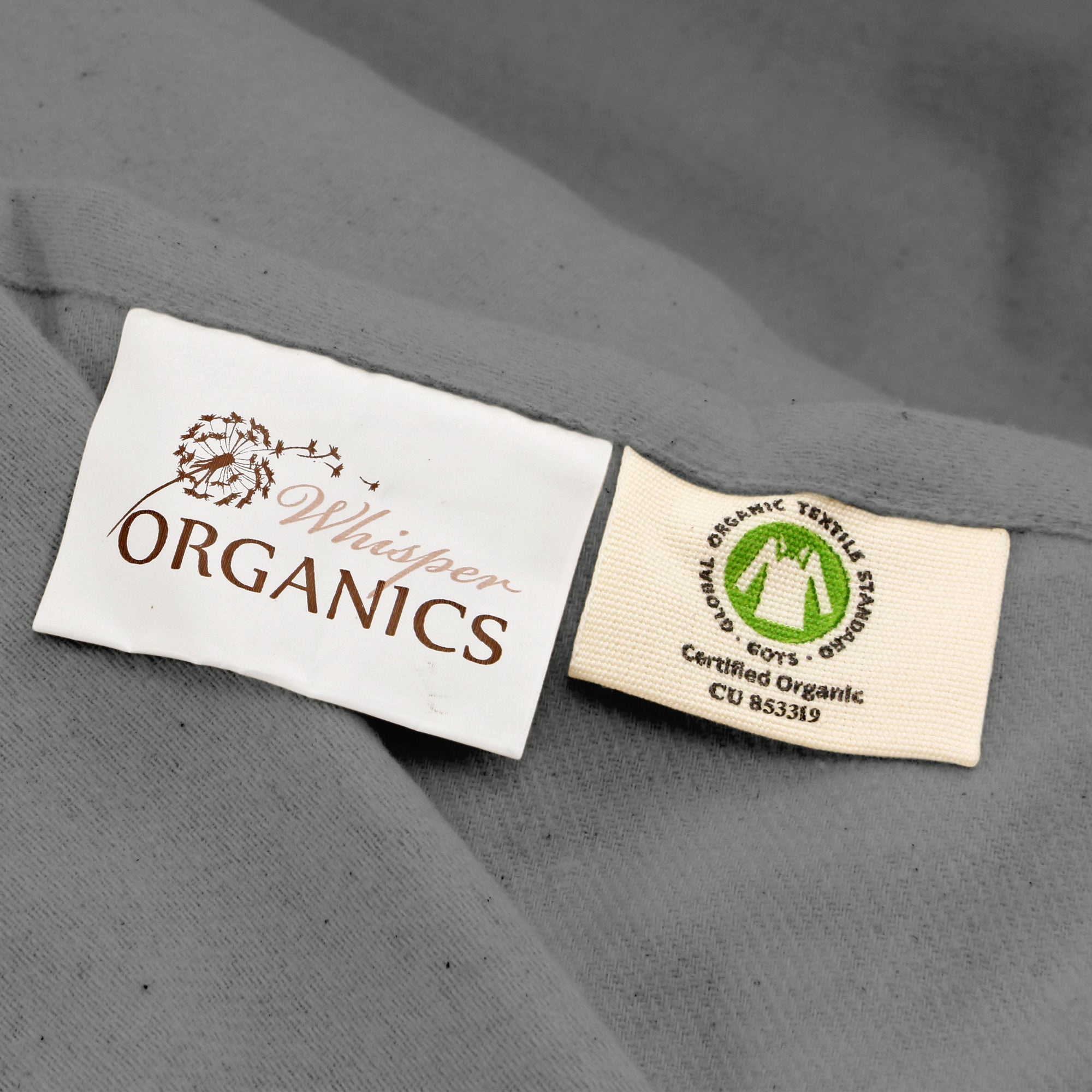 Organic Flannel FLAT Sheet with Pillowcases ( NO FITTED SHEET)