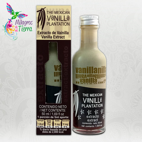 THE MEXICAN VANILLA PLANTATION EXTRACTO DE VAINILLA