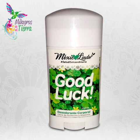 MEXICO LINDO GOOD LUCK DESODORANTE TORONJA LIMON