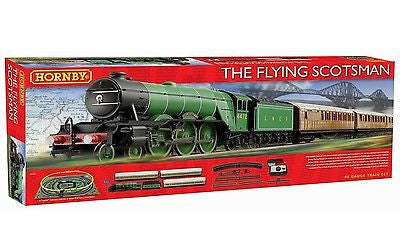 Hornby Flying Scotsman HO Passenger Train Set - NEW RUN -  DCC Ready