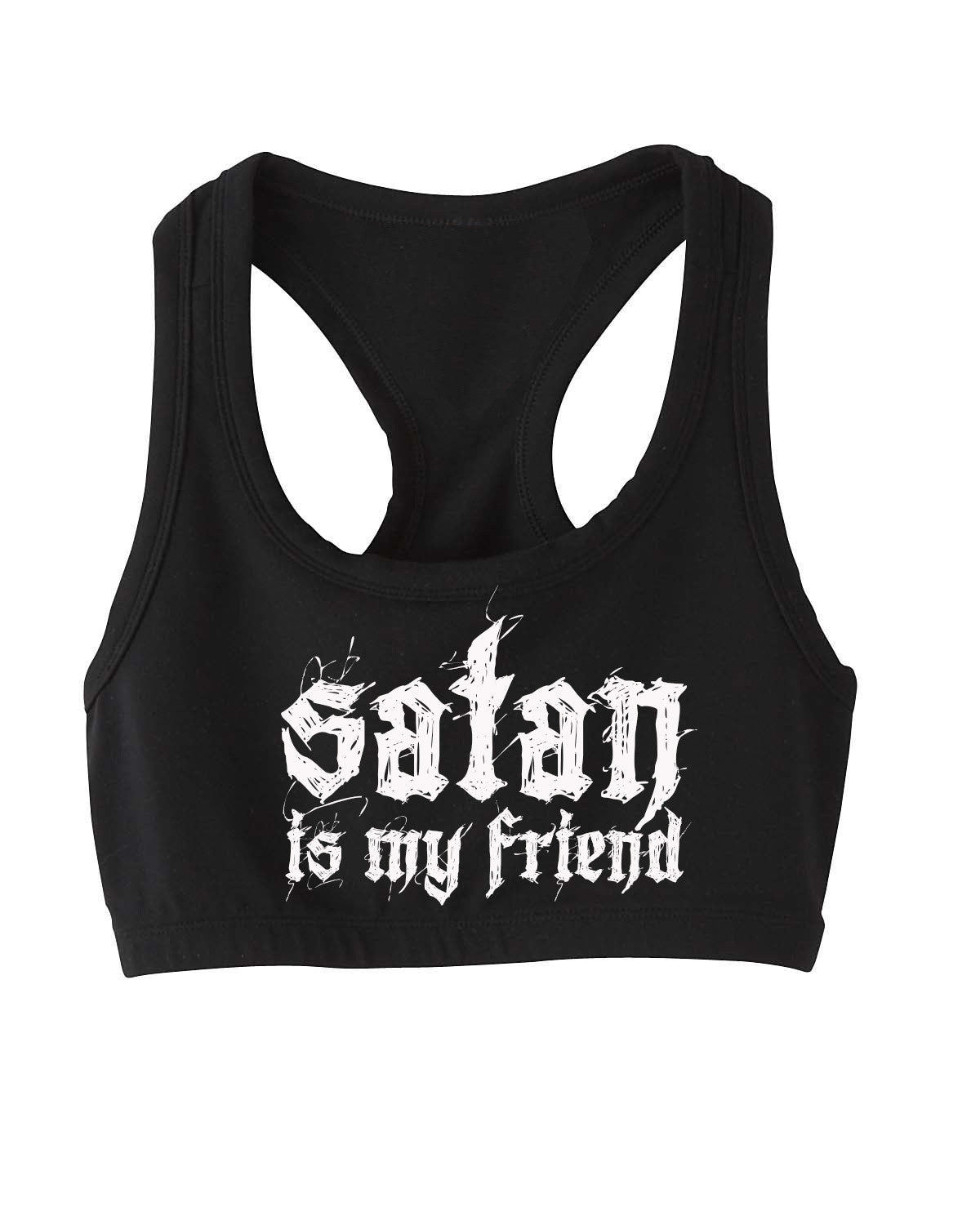 Satan is my friend bra