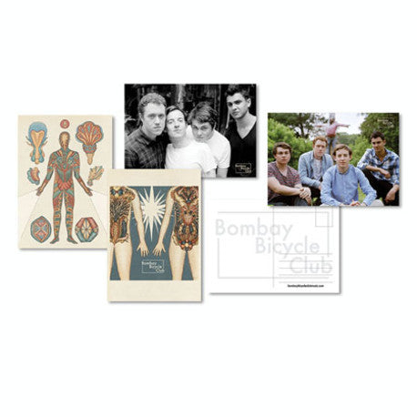 Bombay Bicycle Club Postcard Set