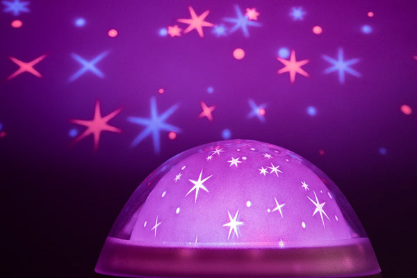 Galaxy Clock by MomKnows. Soothing Star Projector Sound Machine - Addie and Emma's