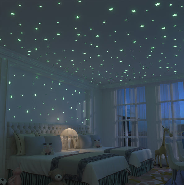 Glow Stars Supernova: 200 of the Brightest Glow in the Dark Stars - Addie and Emma's