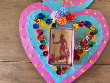 Load image into Gallery viewer, Sacred Heart Tin Wall Art