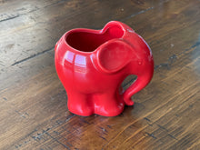 Load image into Gallery viewer, Adorable Elephant Shaped Ceramic Pot