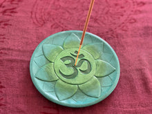 Load image into Gallery viewer, Resin OM Incense Holder