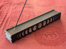 Load image into Gallery viewer, Moon Phases Full Color Stick Incense Box