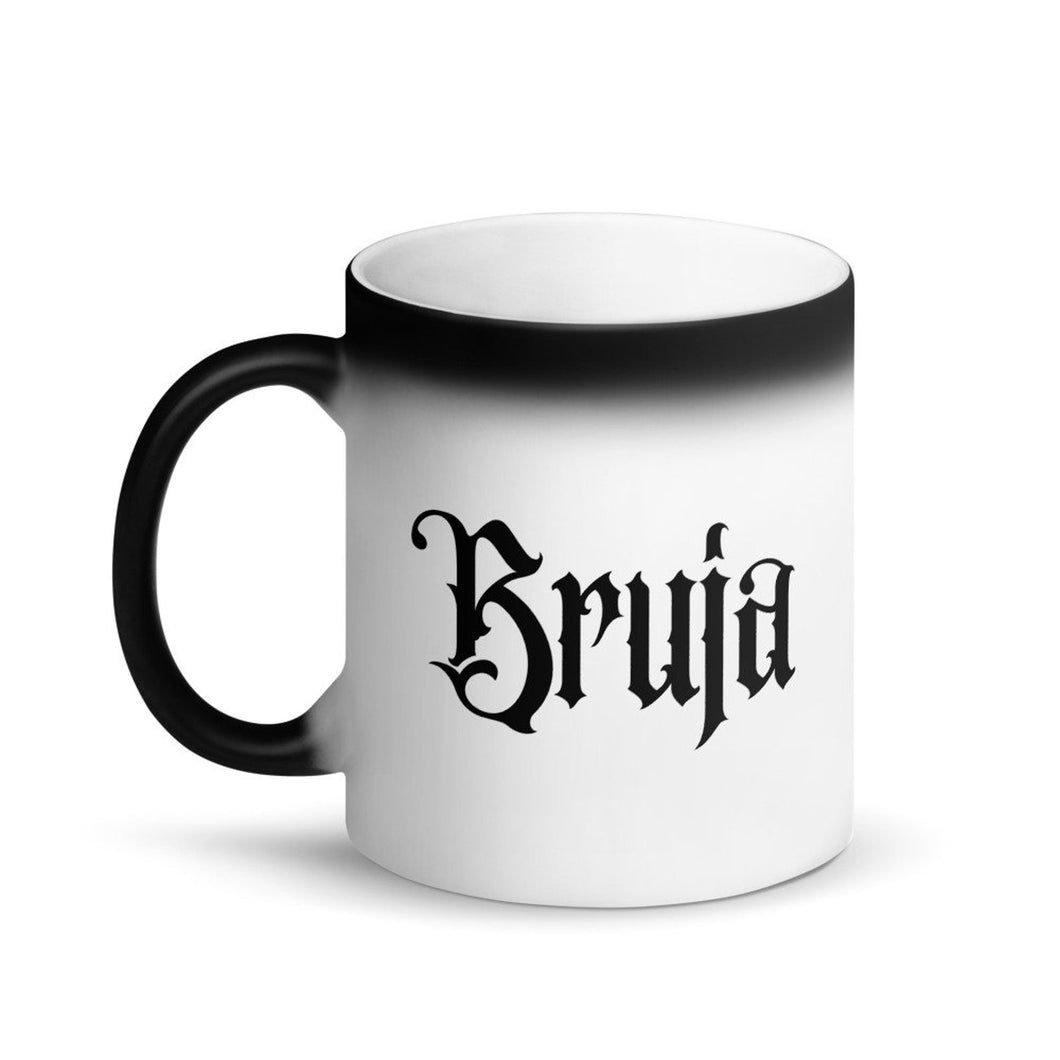 Bruja Color Change Black Magic Mug