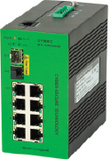 DYMEC KY-3000EMD - 10 Port Managed, Class 1 Division 2 Hazardous Area, Industrial Ethernet Switch, SCADA - IP 40, IEEE1588v2, with DHCP Server - DYMECDIRECT