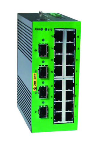 DYMEC KY-3120DM - 20 Port, Managed, Industrial Ethernet, SCADA Switch - IP 40, IEEE1588v2, with DHCP Server - DYMECDIRECT