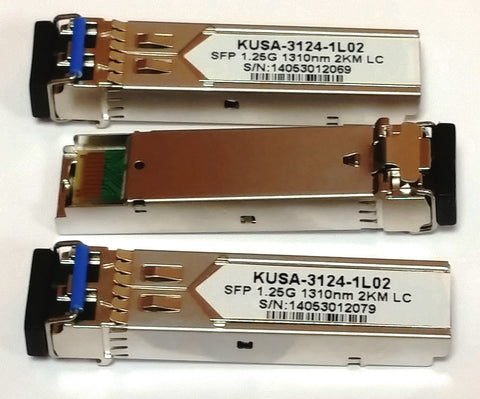 DYMEC KY-MGSFP-LR2KM - Gigabit, 2 KM, Long Range Multi-mode, Temperature Hardened, Diagnostics (DDMI), Industrial SFP - DYMECDIRECT