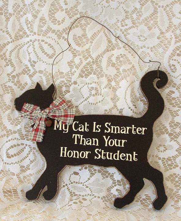 My Cat is Smarter than Your Honor Student Sign