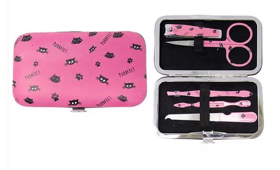 Black Cat Manicure set
