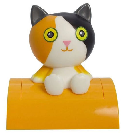 Adorable Calico Kitty Cat Tap On Tap Off Night Light