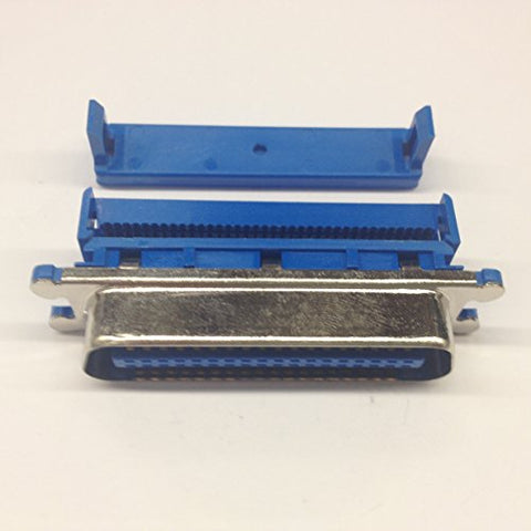 57FE-30360 Centronics Connectors 36 Pin Male IDC Ribbon Cable Mount (1 piece)