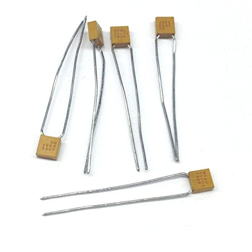 M39014/01-1339 Ceramic Capacitors 100pf 200V +/- 10% Tolerance .001% Failure Rate Radial Lead (5 pieces)