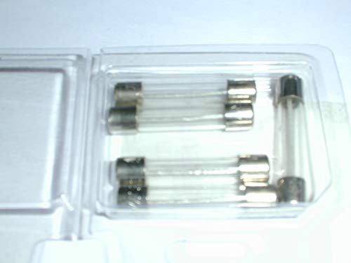 313001 FUSE 1 AMP SLO BLO TIME DELAY 3AG GLASS 5 PKG