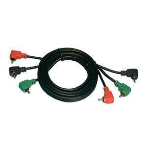 Philmore RGB Component Video Cable w/ Right Angle Connectors - 12' : 45-3212 (1)