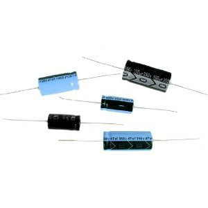 TE2-25V222M Electrolytic Capacitors 2200uf 25V 85deg C Axial Leads 16 x 40mm (3 pieces)