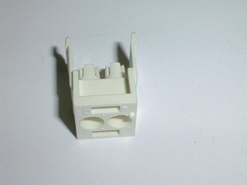 CONNECTOR CAP REAR 2 POSITION WHITE ( 1 EACH)