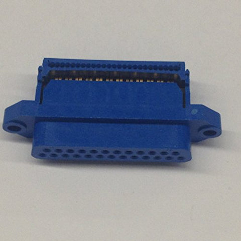 25S-IDC 25 Pin Female D-Sub Connector with IDC Ribbon Cable Termination (1 piece)