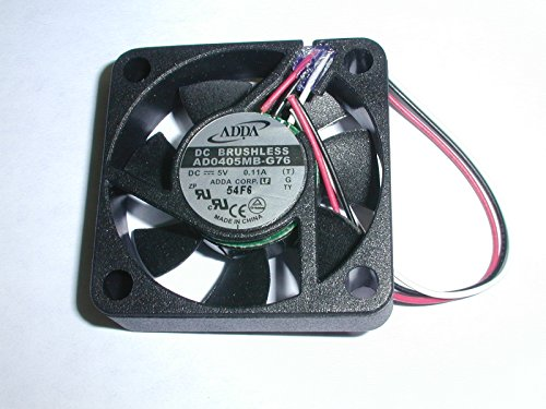 Adda Ad0405mb-g76 5vdc Fan 3 Wire W/out Connector 25pc Pack