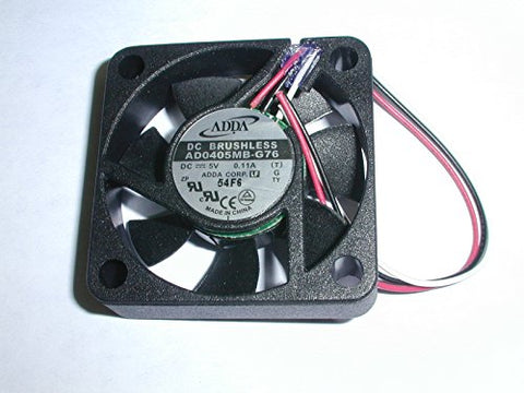 Adda Ad0405mb-g76 5vdc Fan 3 Wire W/out Connector 5pc Pack