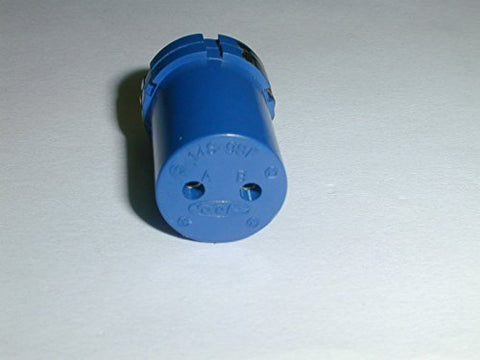 2 PIN CONNECTOR FEMALE SOCKET INSERT ( 1 EACH)