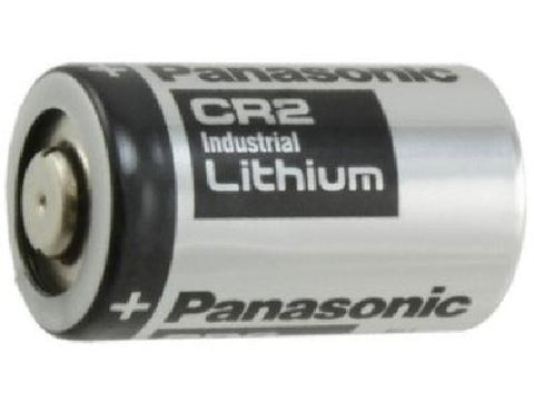 CR2 Panasonic Industrial 3 Volt Lithium Battery