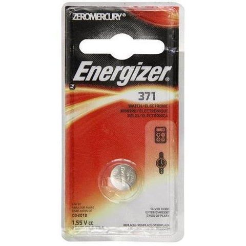 Energizer 371BPZ General Purpose Battery - Silver Oxide - 1.6 V DC