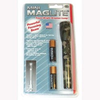 MAGM2A026 Mag Instrument Mini Maglite, Camouflage, 2 AA Batteries, Blister Pack