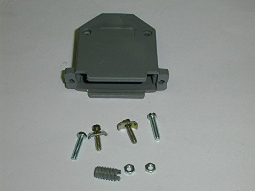 DB25-HOOD PLASTIC HOOD FOR A D-SUB 25 PIN CONNECTOR GREY ( 5 PIECES)