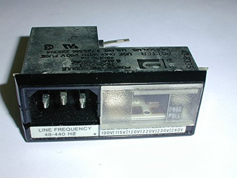 7100-0003 POWER INLET MODULE WITH FUSE ( 1 EACH)