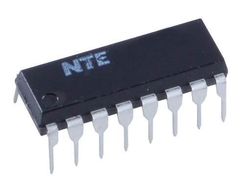NTE74HC390 Integrated Circuit TTL-High Speed CMOS Dual Decade Ripple Counter, 7V, 16-Lead DIP Package