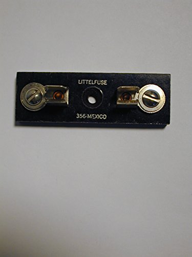 03560001 LITTELFUSE SINGLE FUSE HOLDER for 3AG/AB STYLE FUSE SCREW MOUNT (Per Each)