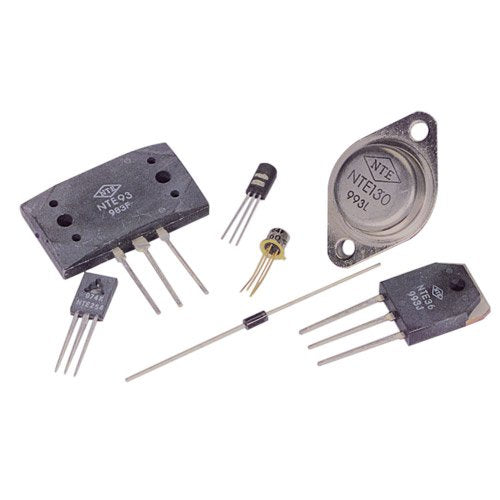 NTE Electronics NTE378 PNP Silicon Complementary Transistor, Power Amp Driver, Output, Switch, 80V, 10 Amp