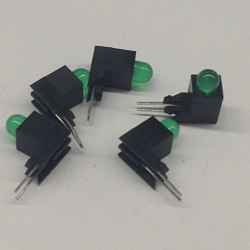 5390H5 PC Board Led T1-3/4 / 5mm, Green Diffused, 2.2V 60mA 10mcd, Piggyback Level 2 for 5300E and 5300H Series (5 pieces)