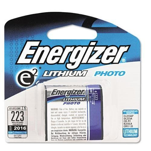 EVEREADY BATTERY e2 Lithium Photo Battery, 223, 6Volt (EL223APBP)