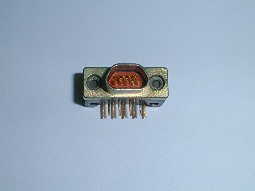 DCCM9SCBR 9 Pin Female D-Microminiature Connector RA PCB (1 piece)