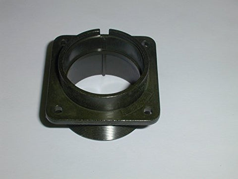 MIL CIRCULAR CONNECTOR 2 POSITION SIZE 28 BOX MOUNT ( 1 EACH)