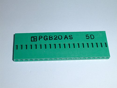 PGB20AS 20 POS SIP CONNECTOR LESS PINS ( 1 EACH)