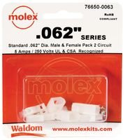 "MOLEX 76650-0063 .062"" Power Connector Kit"
