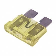 257020 ATO-20 Auto Blade Fuse 20 Amp Yellow (5 pieces)