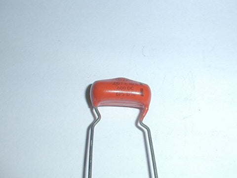 ".001uf 1.0nf 1000pf 600V 10% ""Orange Drop"" Film Capacitors"