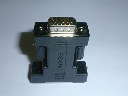 ADO6 VGA D-Sub Adapter, 15 Pin High Density Male VGA connector to 15 Pin Female D-Sub (1 piece)