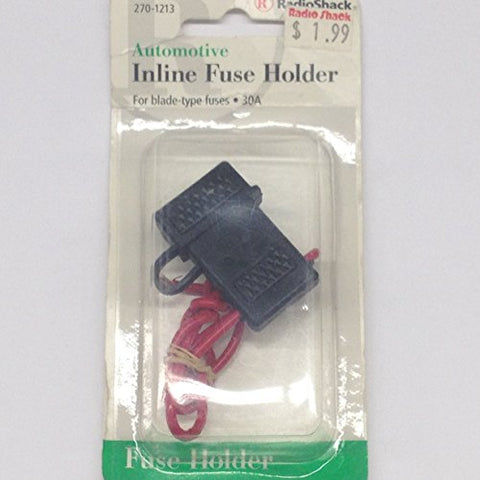 270-1213 Fuse Holder InLine For ATC/ATO Automotive Fuses 30A Max (1 piece)