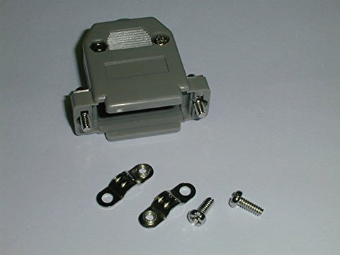 DSH-5115 D-Sub Back Shell for Type A-15 Pin Connectors Gray Plastic (3 pieces)